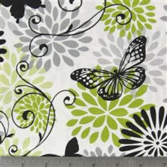 Stunning Butterfly Fabric 1 Yard
