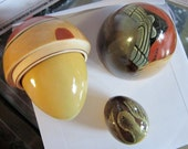 Russian Stacking Dolls Rock Duck set of 3 Moscow
