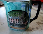 Antique Creamer Longfellow's Home, Portland, Maine Souvenir - VistaChick