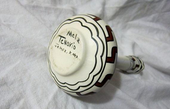 Pueblos of New Mexico Potters Pitcher-Mela Tenorio Native American