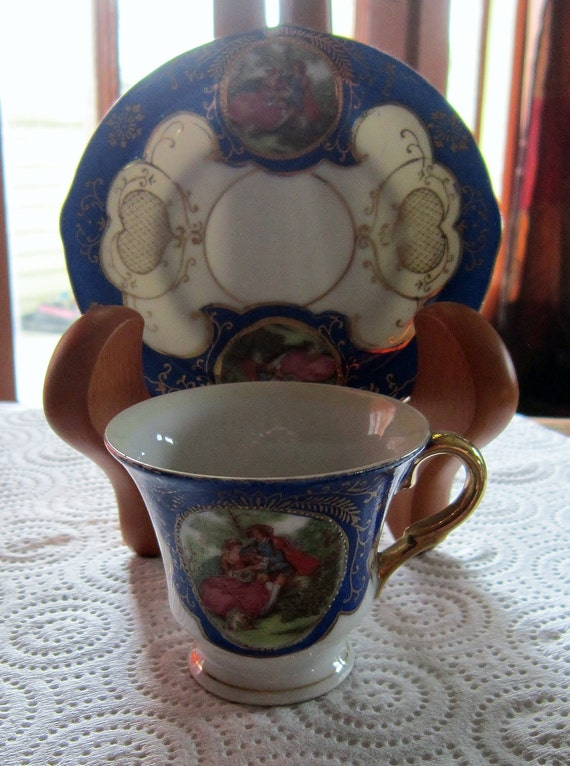 Tea Cup & Saucer Made in Occupied Japan