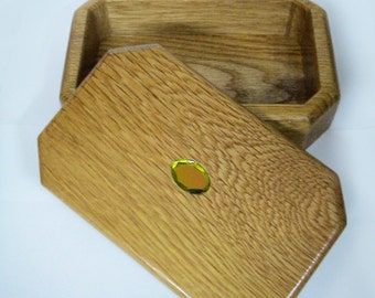 Wooden Rectangular Jewelry Box
