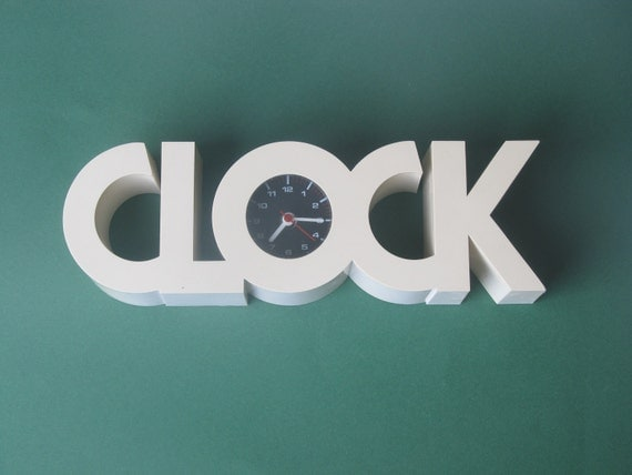 typical 70's / Seventies Clock