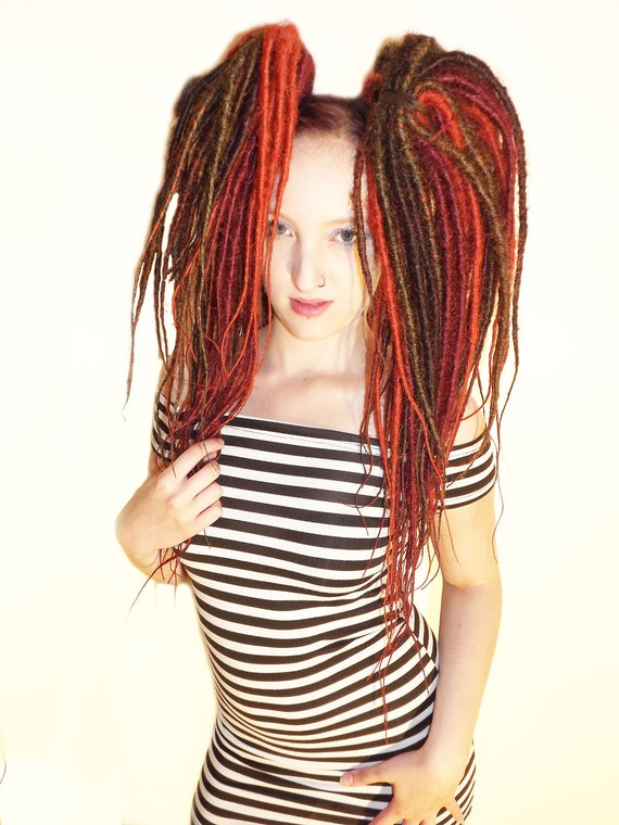60 double ended dreads. SALE