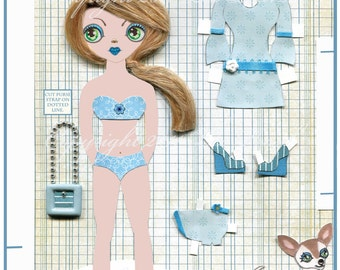 Elizabeth and Lucy Paper Doll