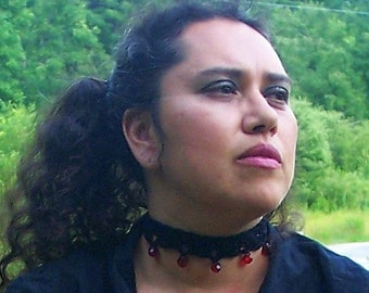 Vampire Crochet Necklace Choker