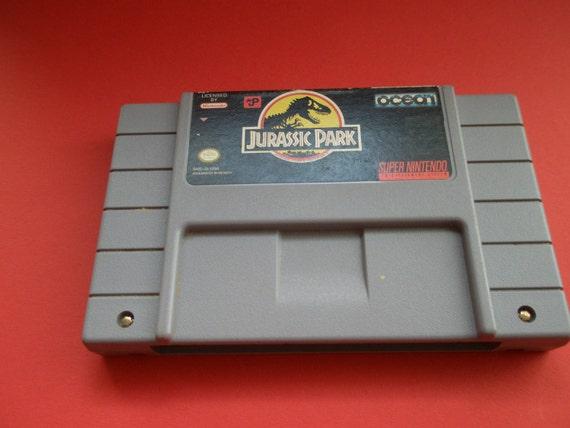 1991 Jurassic Park Super Nintendo game, Ocean inc., video game