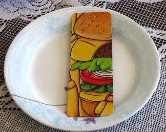 Cheeseburger Bookmark