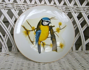 Vintage 1978 Enesco Plate with Bluebird Image - Collectable