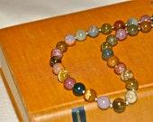 Jasper Necklace, Handmade Necklace from Natural Ocean Jasper, Elegant Jasper Jewelry