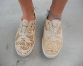 Harry Potter Marauders Map Shoes