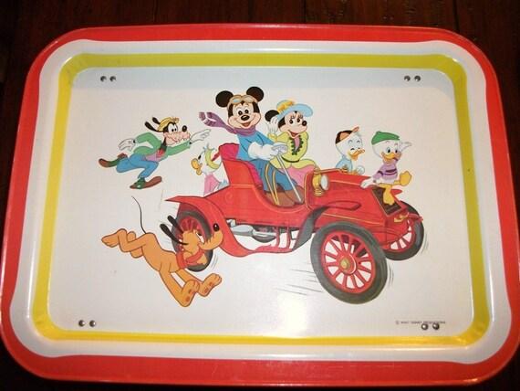 Vintage Disney folding T.V. tray