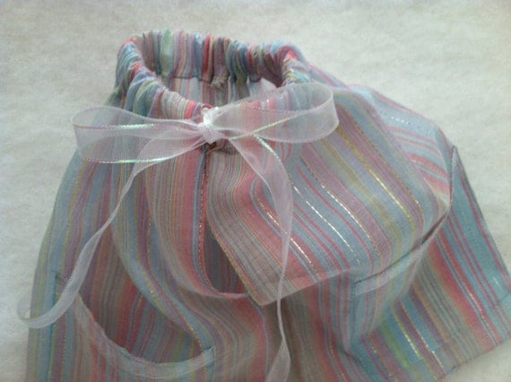 Shoe Pants, Travel Bags for Shoes, Sheer Voile, Shipping Included
