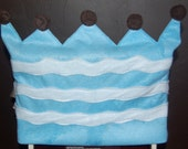 Baby Boy Prince First Birthday High Chair Cover - birthday party, prince, 1st birthday