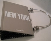 New York book purse - one of a kind