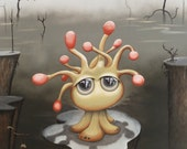 """11"""" x 14"""" Art Print - """"Croopy: The Orphaned Pillywip"""""""