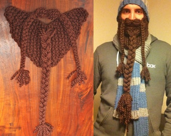 Knit and Braided Beard