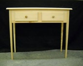 """Unfinished 36"""" Console, Sofa, Foyer, Hall, Wall Table"""