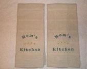 Mom's Kitchen Hand Towel (Set of 2)