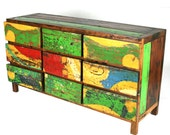 Dresser Nine Drawers Aquarella