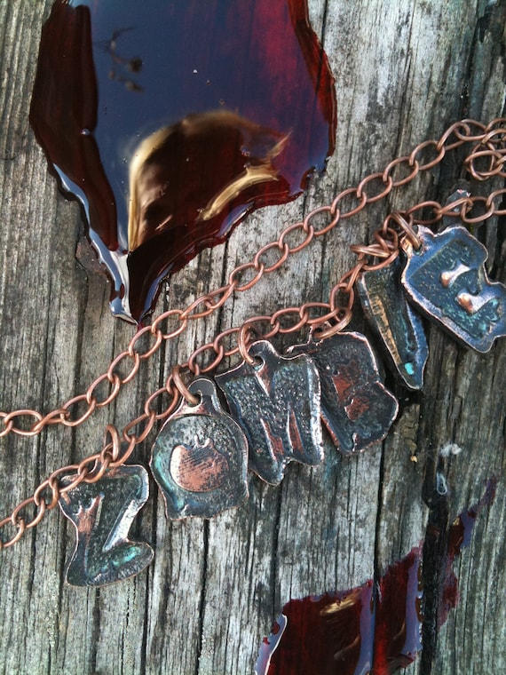 Zombie Chain Necklace