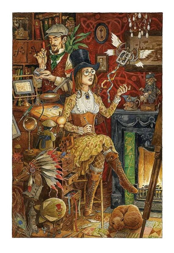 Print. Toymaker's Workshop