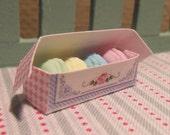 Macarons in a pretty box