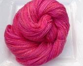 Reserved for Rose Marie - Handspun & dyed 22 micron merino yarn