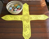 Easter tablecloth crochet