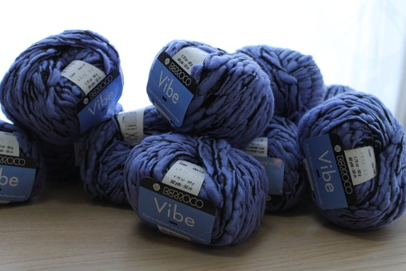 Berroco Vibe Little Girl Blue Yarn - 13 Skeins