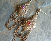 Chained Victorian Earrings