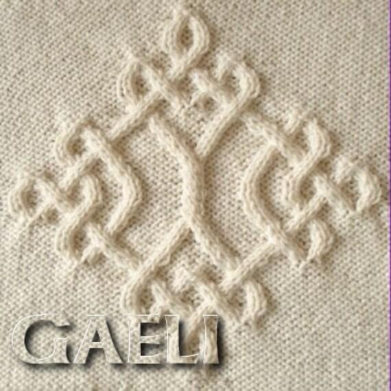 Celtic Diamond 20 Knitting Pattern by CelticPatterns on Etsy