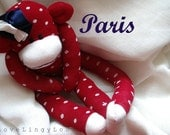 Sock Monkey - Paris
