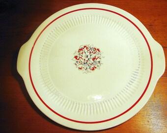 Vintage Cake Plate, Unmarked