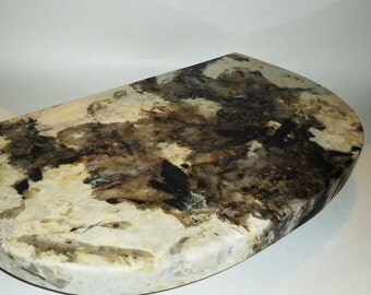 Large Granite Cutting Board Cheeseboard Serving Tray Coldstone Neutral Colors 115