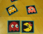 Miss Pacman coasters