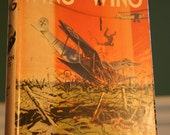 Vintage Wing for Wing Book by Thomson Burtis, 1932 Collectible