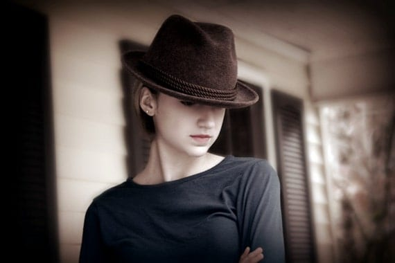 New Year Coupon, save 10%, use code 2013special at checkout.  Dobbs Wool Hat (unisex)