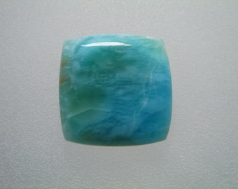Square CALIBRATED LARIMAR Gemstone Cabochon. HIGH Quality. very well polished
