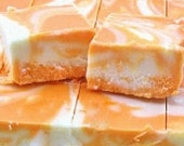 One (1) Pound Fresh Homemade Fudge-Made to Order-Orange Creamsicle