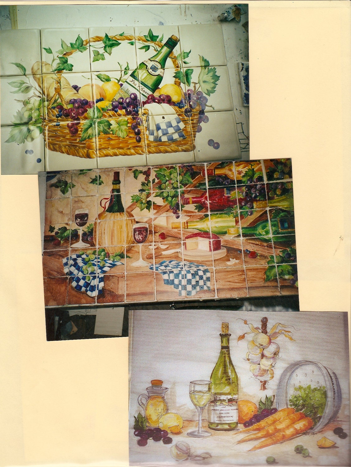 Tile murals for kitchen backsplash ceramic tile kiln for Ceramic mural designs
