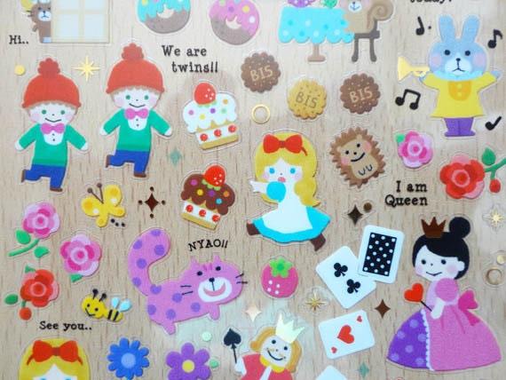 Alice stickers-SALE