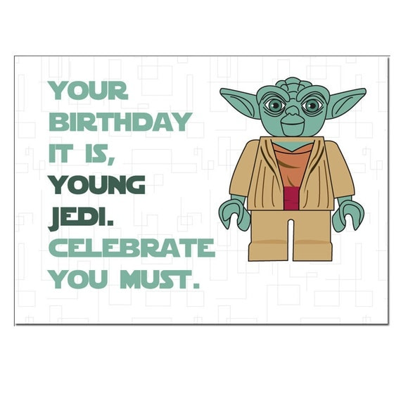 Old Fashioned image with star wars printable birthday cards