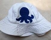 Octopus Critter Sun Hat - Custom for Zyrka