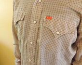 Vintage Western Snap Shirt by Eli- AWESOME
