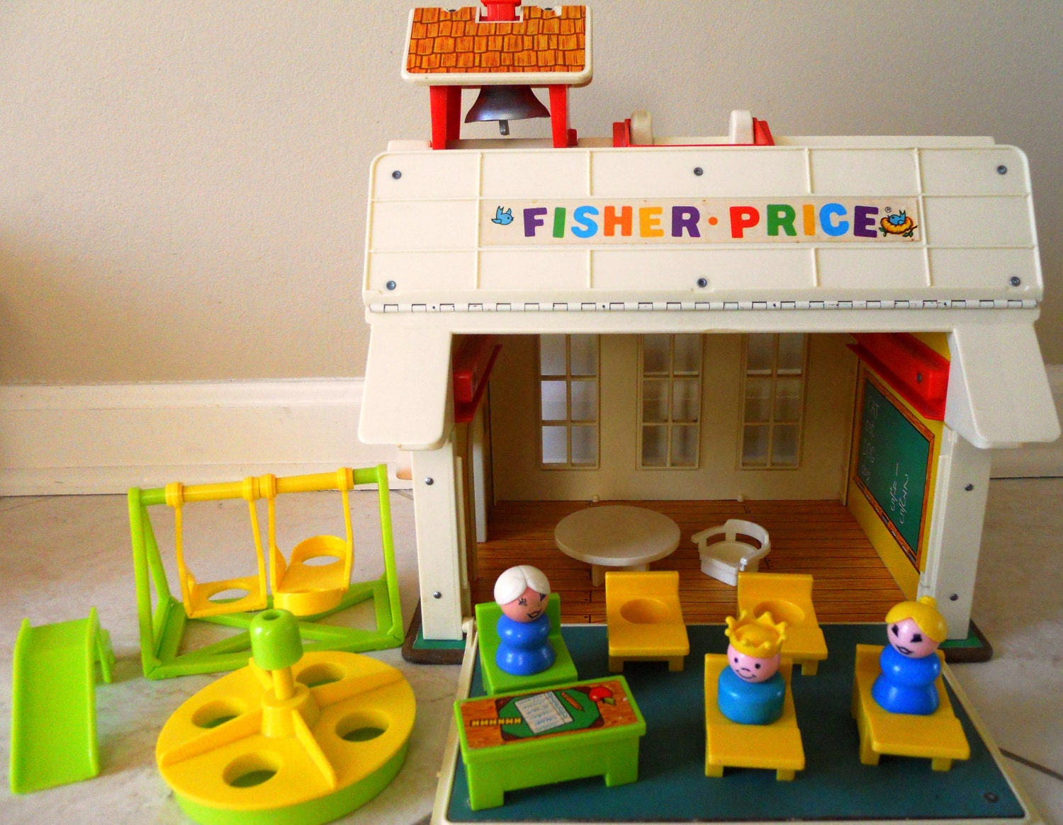 Fisher Price School House Play Set 1970s