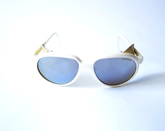 Vintage INVICTA 80s Sunglasses with leather details
