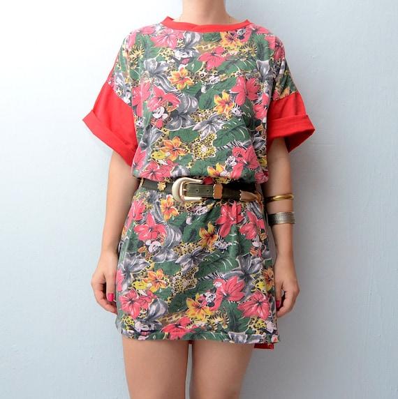 Vintage Disney Jungle mini Dress tshirt