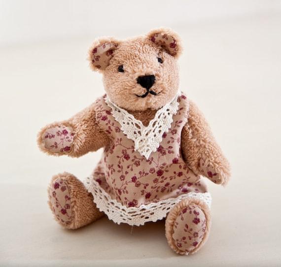Teddy Bear. Handmade Bear.