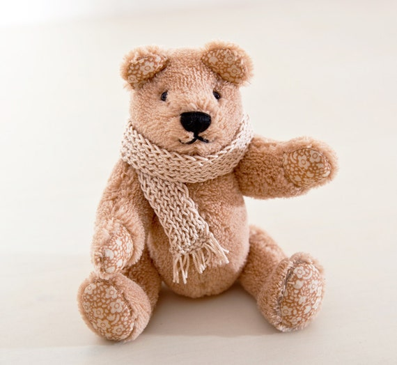 Teddy Bear. Handmade Bear. Child's Room Decoration